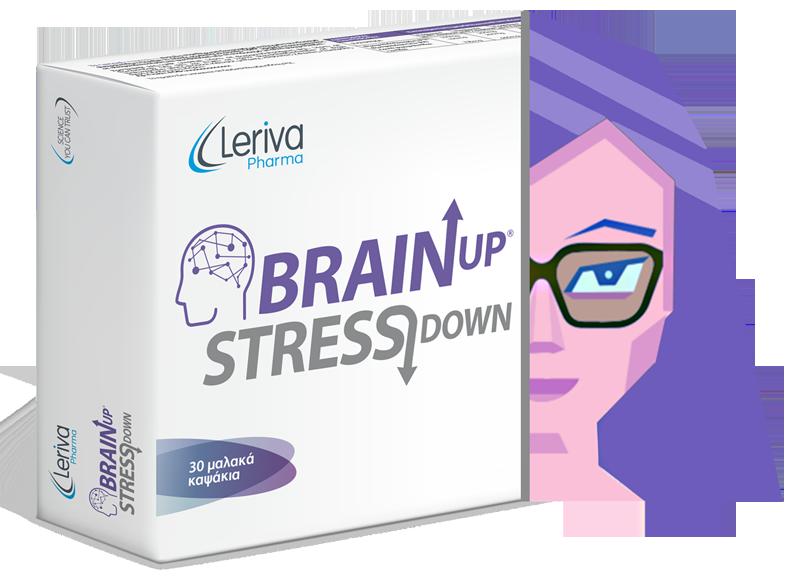 woman brain up
